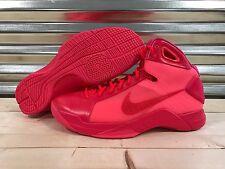 Nike Hyperdunk 2008 Basketball Shoes Triple Solar Red SZ 13 ( 820321-600 )