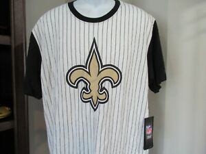 New Orleans Saints Big Logo 47 Brand Shirt Men's 2XL nwt Free Ship