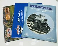 Lot of 3 Catalog Hobby Magazine K-Line by Lionel, Mantua w/Price List, USA Train