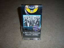 Encore Video, USO Christmas Show 1958, (VHS) NEW, 90 mins., B&W, RARE