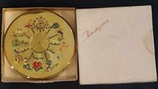 Rare Vtg Rendezvous - Dial a Date compact w/ Org. Box