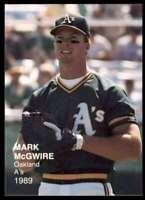 1989 BASEBALL'S BEST ONE MARK MCGWIRE OAKLAND ATHLETICS #2 OF 21