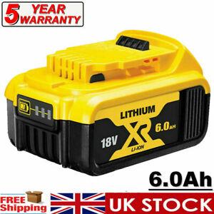 For DeWalt DCB184 18V 6.0Ah Li-ion XR Slide Battery DCD785 DCF885 DCB182 DCB180