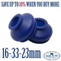 2 X UNIVERSAL Dust Boot Silicone 16 33 23 Track Rod End and Ball Joint Boot Blue