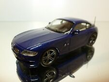 NEO MODELS 44285 BMW Z4 M COUPE - BLUE METALLIC 1:43 - EXCELLENT CONDITION - 33