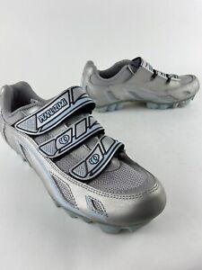 Pearl Izumi Vagabond M3 5085 I-Beam MTB Cycling Shoes Womens US 6 SILVER EU 37