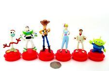 Toy Story 4 Disney Cinema Movie Cup Topper BUZZ WOODY FORKY Duke Caboom Bo Peep
