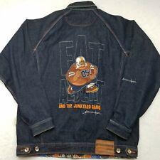 Fubu Platinum Boys XL (20) Fat Albert Denim Jean Jacket Dark Wash