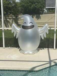 """60"""" Swimline Giant Inflatable Halloween Ghost Pool Float Blow Up"""