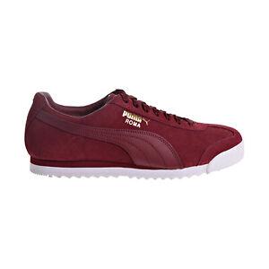 Puma Roma Suede Men's Shoes Pomegranate 365437-09