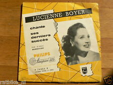 LP VINYL RECORD LUCIENNE BOYER PHILIPS P76003 R   10 INCH  33,5 RPM