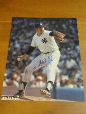 "Signed JIM CATFISH HUNTER 8""x10"" Photo NY YANKEES A's Autograph"