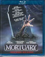 MORTUARY  Code Red *NEW BLU-RAY* cult  *80's HORROR TRASH* zombie BILL PAXTON