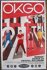 Ok Go 2015 Gig Poster Portland Oregon Concert