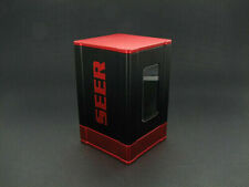 SEER DECK BOX CARD CASE SLEEVE PROTECTOR RED MAGIC POKEMON YUGIOH BOXGODS