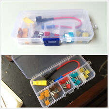 Add-A-Circuit In-line Fuse Holder Fuse Tap Fuse Puller & Micro2 Fuse Set For Car