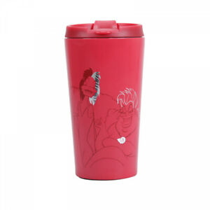 Disney Princess Travel Mug Cruella & Queen Ursula Villains Stainless Steel 300ml