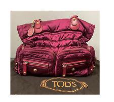 Tod's Pashmy Media D Tote Bag Handbag Authentic + Dust Bag