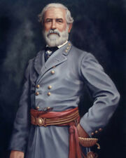 Civil War Confederate General ROBERT E LEE Glossy 8x10 Photo Painting Print
