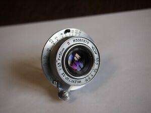 KMZ INDUSTAR-22 50mm f/3,5 P Lens M39 for Zorki FED Leica
