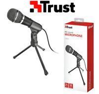 Trust 21671 Starzz Microfono ad alte prestazioni e treppiedi alta qualità audio