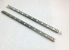 1Paar Schubladenschienen Teilauszug Rollenauszug Kugelführung Stabil Schienen