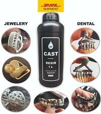 DLP  SLA  LCD 3d printer castable high quality resin for dental  &  jewelry