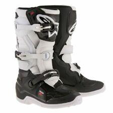 NEW Alpinestars Tech 3s YOUTH MX Motocross Boots - Black/White