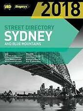 UBD GREGORY'S SYDNEY & BLUE MOUNTAINS STREET DIRECTORY 2018 incl. Truckies info