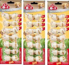 8in1 Delicias XS 3UDS. 7 Unidades hueso para Roer con Carne de pollo - Der Vaca