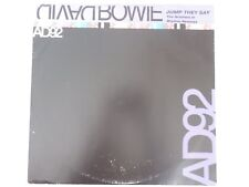 "DAVID BOWIE - JUMP THEY SAY DJ PROMO-ONLY 12"" VINYL SINGLE AD92"