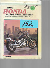 HONDA 1100cc Shadow 1985-1996  Serice Manual   #152