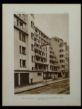 L'ARCHITECTE 1926 PARIS, 13 RUE DES AMIRAUX, HENRI SAUVAGE, CASABLANCA, PROST