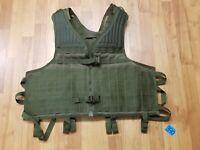 BLACKHAWK! OD Green STRIKE Omega Vest w/Lace-Style Girth Adjustment