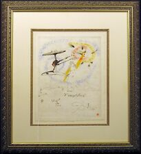 "Salvador Dali ""L'Incantation"" Original Etching, Hand Signed by Dali, 1960, OBO!"