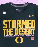 Oregon Ducks 2013 Tostitos Fiesta Bowl Champions Mens T-Shirt Football Nike ✔