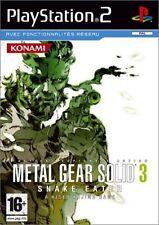 Jeux vidéo pour Sony PlayStation 2 metal gear solid