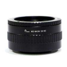 Pixco 36mm to 90mm Focusing Helicoid Macro Lens Tube Adapter For M52 To M42