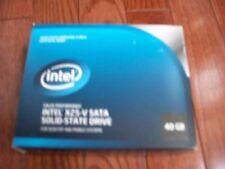 Intel 40Gb X25-V SATA SSD, New Opened Box