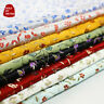 Chinese Floral Damask Fabric Faux Silk Material Jacquard Brocade Cloths DIY Soft