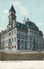 DES MOINES IA - Post Office - udb (pre 1908)