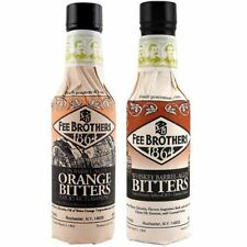 Fee Brothers Limited Run Bitters 2 Pack - Gin Barrel-Aged Orange & Whiskey Barre
