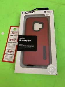 Incipio DualPro Series Dual Layer Case for Samsung Galaxy S9 - Red/Black