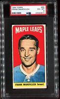 1964-1965 Topps Hockey #85 FRANK MAHOVLICH Toronto Maple Leafs PSA 6 EX-MT