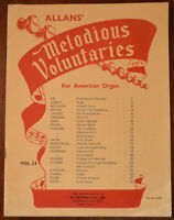 Allan's Melodious Voluntaries For American Organ No.23 arranged by Henry Newton