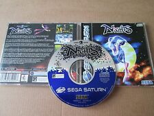 Nights into dreams... Sega Saturn Game-Pal JEWEL CASE question disque Near Comme neuf