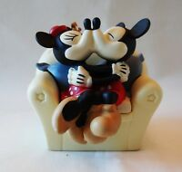 """DISNEY MICKEY AND MINNIE MOUSE 2 PEICES """"Love our Comfy Cozy Life"""" New W/O Box"""