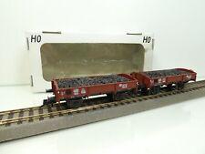 Klein Modellbahn M+D 414 - H0 - DB - 2 Schlackenwagen  - TOP/OVP-#5463