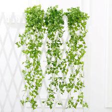 110Cm 12Pcs Garland Silk Artificial Hanging Wisteria Flowers Wedding Home Decor
