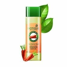 Biotique Bio Carrot Seed Anti-Aging After-Bath Body Oil 120 ml + Free Shipping